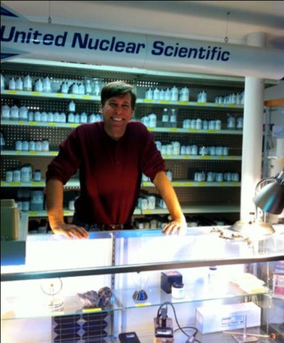 Company Founder and CEO Bob Lazar, in 2008 at their small retail store in Laingburg, Mi.