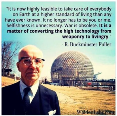 Buckminster fuller cool quote