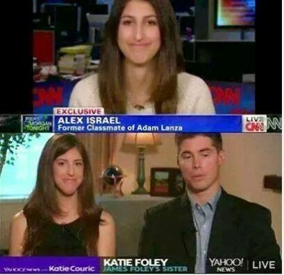 Crisis Actors James and Katie Foley photo