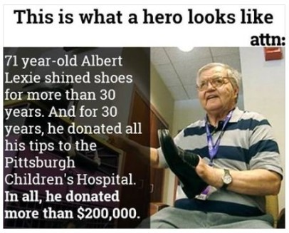 a real hero cool truth photo