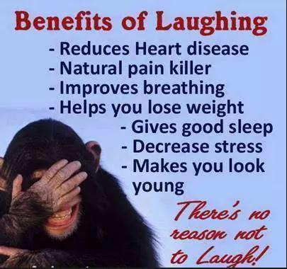 benefits of laughing cool photo