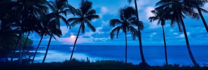 blue beach cool photo