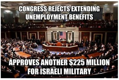 congress wont extend unemployment gives 225 mil to israel truth photo
