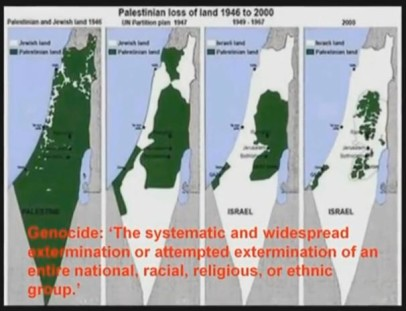 palestinian loss of land David Icke photo